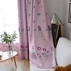 abordables Habillage de Fenêtres-Rideau Occultant Panneau Personnalisée Bleu / chambre d'enfants / Rideaux occultants rideaux
