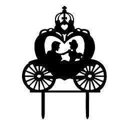 billige Kakedekorasjoner-Kakepynt Strand Tema / Hage Tema / Sommerfugl Tema Stilfull / Enkel Stil Tre / Bambus Bryllup / Spesiell Leilighet med Akryl / Solid 1 pcs OPP