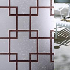 tanie Akcesoria okienne-Folie okienne i naklejki Dekoracja Matowy / Współczesny Geometryczny PVC Naklejka okienna / Matowy / a