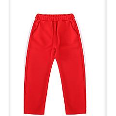 billige Bukser og leggings til piger-Børn Pige Basale Ensfarvet / Stribet Patchwork Bomuld Bukser