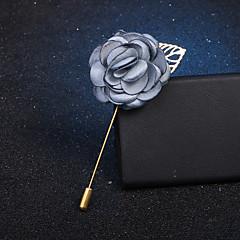 billige Motebrosjer-Dame Klassisk / Elegant Nåler - Fuskediamant Roser, Blomst Vintage, Mote, Britisk Brosje Lyseblå / Lys Rosa / Lyseblå Til Fest / Daglig