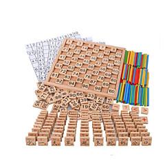 Χαμηλού Κόστους Παιχνίδια ανάγνωσης-Numbăr Νεό Σχέδιο Ξύλινος Όλα Παιδικά Δώρο 1 pcs