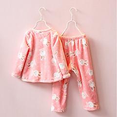 billige Undertøj og sokker til piger-Børn / Baby Pige Trykt mønster Nattøj
