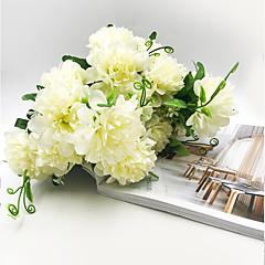 billige Kunstige blomster-Kunstige blomster 1 Gren Klassisk Stilfull Enkel Stil Kurvplante Bordblomst