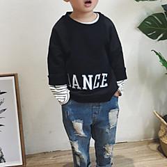 tanie Odzież dla chłopców-Brzdąc Dla chłopców Nadruk Długi rękaw Bluza z kapturem / bluza