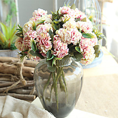 billige Kunstige blomster-Kunstige blomster 1 Gren Klassisk Europeisk Pastorale Stilen Kurvplante Bordblomst