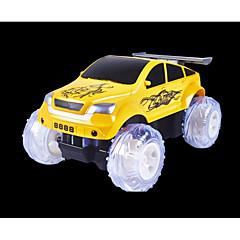 baratos Carros Controle Remoto-Carro com CR LIANGDIANZHJIXING 6 Canais Infravermelho Jipe (Fora de Estrada) / Stunt Car / Drift Car 1:24 20 km/h KM / H Música / Lâmpadas Multi-sombra / Luminoso