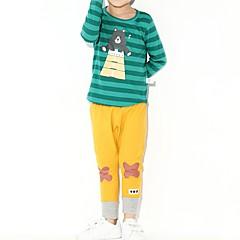 billige Tøjsæt til drenge-Baby Drenge Tegneserie Langærmet Tøjsæt