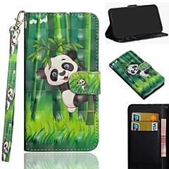 billige Telefoner og nettbrett-Etui Til Apple iPhone XS / iPhone XS Max Mønster Heldekkende etui Panda Hard PU Leather til iPhone XS / iPhone XR / iPhone XS Max