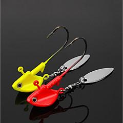Χαμηλού Κόστους Αγκίστρια-3 pcs Θαλάσσιο Ψάρεμα / Ψάρεμα με Μύγα / Δολώματα πετονιάς Μόλυβδος Εύκολο στη χρήση