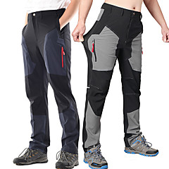 cheap Camping, Hiking & Backpacking-Men's Hiking Pants Outdoor Quick Dry, Anatomic Design, Wearable Spandex Pants / Trousers Fishing / Hiking / High Elasticity