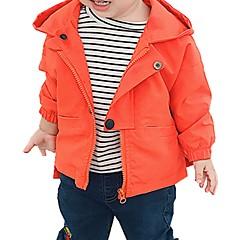 billige Jakker og frakker til drenge-Børn / Baby Drenge Trykt mønster Langærmet Jakke og frakke