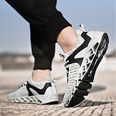 tanie Buty do biegania-Męskie Bieganie / Adidasy Poliuretan Wyścigi / Bieganie / Jogging Lekki, Anti-Shake, Amortyzacja Oddychająca siateczka / Tiul / Tkanina Biały / Czarny / Zielony
