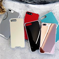 Capinha Para Apple iPhone X / iPhone XS Max Antichoque / Espelho Capa traseira Sólido Rígida Acrílico para iPhone XS / iPhone XR / iPhone XS Max