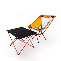 Χαμηλού Κόστους Έπιπλα Κατασκήνωσης-BEAR SYMBOL Πτυσσόμενη καρέκλα κάμπινγκ / Τραπέζι κάμπινγκ Εξωτερική Ελαφρύ, Αντιολισθητικό, Ικανότητα να αναπνέει Oxford Πανί, 7075 Αλουμίνιο για Ψάρεμα / Κατασκήνωση Πορτοκαλί