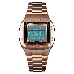 Χαμηλού Κόστους Ανδρικά Ρολόγια-SKMEI Ανδρικά Αθλητικό Ρολόι Ρολόι Καρπού  Ψηφιακό ρολόι Ψηφιακό Ανοξείδωτο Ατσάλι 74e67ae5187