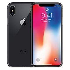 billige Telefoner og nettbrett-Apple iPhone X A1865 5.8 tommers 256GB 4G smarttelefon - oppusset(Grå)