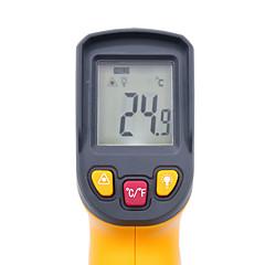 tanie Pomiar temperatury-cyfrowy termometr na podczerwień -50 - bezkontaktowy irometryczny miernik temperatury czerwonego lasera hy45