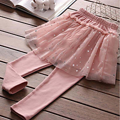 billige Bukser og leggings til piger-Børn Pige Galakse Bukser