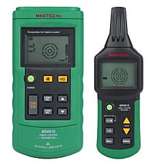 tanie Instrumenty elektryczne-mastech ms6818 zaawansowany tester drutu tracker wielofunkcyjny wykrywacz kabli 12 ~ 400v lokalizator rur miernik ciśnienia przetwornik