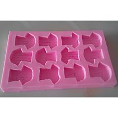 billige Bakeredskap-Bakeware verktøy Silikongel Kreativ Kjøkken Gadget Originale kjøkkenredskap Rektangulær Dessertverktøy 1pc