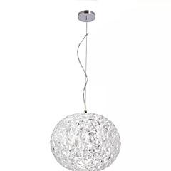 billiga Dekorativ belysning-QIHengZhaoMing Glob Hängande lampor Glödande Elektropläterad Metall Glas 110-120V / 220-240V Varmt vit Glödlampa inkluderad / Integrerad LED