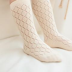 tanie Odzież dla dziewczynek-Brzdąc Unisex Solidne kolory Bielizna / s skarpetki