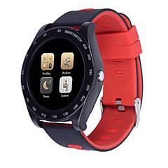 tanie Inteligentne zegarki-Inteligentny zegarek Z1 na Android iOS Bluetooth 2G Pulsometry Pomiar ciśnienia krwi Ekran dotykowy Spalonych kalorii Długi czas czuwania Krokomierz Powiadamianie o połączeniu telefonicznym