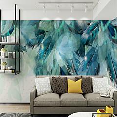 billige Tapet-bakgrunns / Veggmaleri Lerret Tapetsering - selvklebende nødvendig Art Deco / Mønster