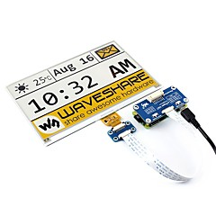 cheap -Waveshare  7.5inch e-Paper HAT(C)  640x384  7.5inch E-Ink display HAT for Raspberry Pi  yellow/black/white three-color