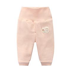 billige Babyunderdele-baby piger aktive sportsfarvede bomuldsbukser