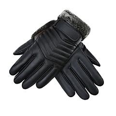 baratos Luvas de Motociclista-Dedo Total Homens Motos luvas Pele Manter Quente / Anti-desgaste / Antiderrapante