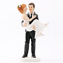 billige Kakedekorasjoner-Kakepynt Strand Tema / Hage Tema / Klassisk Tema Enkel Stil ABS Resin Bryllup / Spesiell Leilighet med Solid 1 pcs Gaveeske