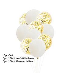 billige Bryllupsdekorasjoner-Ballong Emulsion 10pcs Bryllup