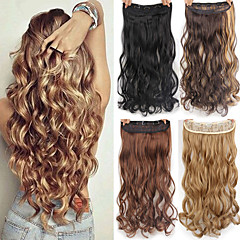 hår extensions clip on billigt