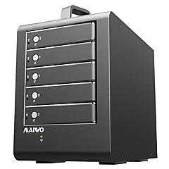 baratos Capas para Disco Rígido-MAIWO Gabinete do disco rígido Distancia de Rastreamento / Hub USB / Âmbito de Visão Liga de alumínio USB 3.0 K5FU3SR