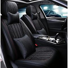 billige Setetrekk til bilen-ODEER Setetrekk til bilen nakkestøtter / Midjeputer / Setetrekk Svart tekstil / PU Leather Vanlig Til Universell Alle år Alle Modeller
