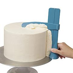 billige Bakeredskap-justerbar kjøkken snu sukker leveling enhet kake dekorere verktøy diy mat klasse plast kake verktøy kjøkken tilbehør