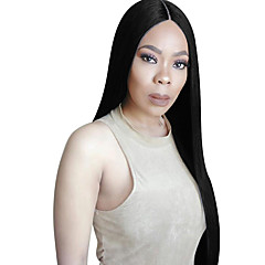 cheap Wigs & Hair Pieces-Human Hair Lace Front Wig Brazilian Hair Straight Wig 130% Density with Baby Hair Women's Long Human Hair Lace Wig