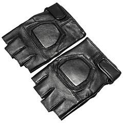 baratos Luvas de Motociclista-Meio dedo Todos Motos luvas Couro de Poliuretano Secagem Rápida / Antiderrapante