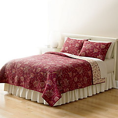 cheap Quilts & Coverlets-Comfortable - 1pc Comforter / 2pcs Pillows (only 1pc pillow for Twin or Single) All Seasons Cotton Solid Colored