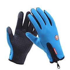 baratos Luvas de Motociclista-Dedo Total Unisexo Motos luvas Tecido Oxford Prova-de-Água / Manter Quente / Antiderrapante