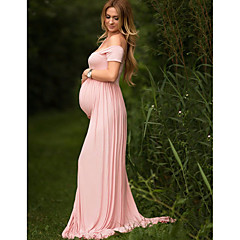povoljno Trudnička odjeća-Žene Elegantno Korice Haljina Jednobojni Maxi