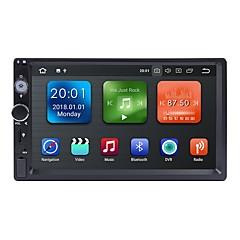 billiga DVD-spelare till bilen-Factory OEM WN7098 7 tum 2 Din Android 8.1 In-Dash DVD-spelare / Bil multimedia spelare / Bil GPS Navigator GPS / Inbyggd Bluetooth / RDS för Universell RCA / GPS Stöd MPEG / AVI / MPG Mp3 / WMA / WAV