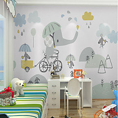 cheap -Wallpaper / Mural Canvas Wall Covering - Adhesive required Painting / Pattern / 3D
