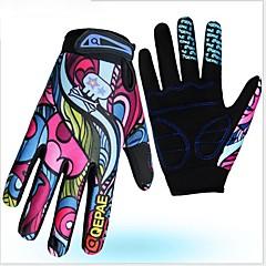 baratos Luvas de Motociclista-Dedo Total Unisexo Motos luvas Microfibra / Elastano Licra Respirável / Anti-desgaste / Protecção