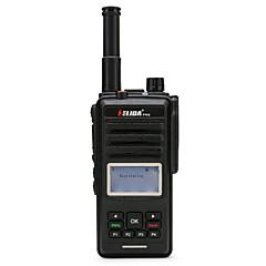 billige Walkie-talkies-ELIDA CD860 Håndholdt / Dobbelt bånddisplay GPS / Programmerbar med datasoftware / Gruppesamtale >10 km >10 km 16CHANELS 6000 mAh 5 W Walkie Talkie Toveis radio