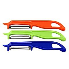 povoljno Kuhinja i objedovanje-1set Kuhinja Alati Stainless Steel + Plastic Eco-friendly Ergonomski dizajn Multifunkcionalno Cutting Tools Jelo i kuhinja Nož za guljenje Uporaba za voće za povrće