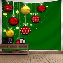 billige Veggdekor-Rektangulær Veggdekor 100% Polyester Moderne Veggkunst, Veggtepper Dekorasjon