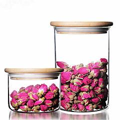 billiga Köksförvaring-Kök Organisation Konservering och inkokning / Mat förråd / Kryddor Glas Ny Design 1st